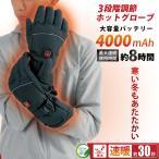 【新商品】 ホットグローブ ヒート 手袋 あったか 充電 電池 両対応 通勤 アウトドア 釣り ウォーキング
