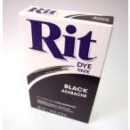 RIT染料 パウダー 15 black 黒   煮沸染め