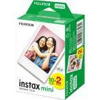 富士フィルム チェキフィルム 2本パック 20枚 INSTAX MINI JP 2