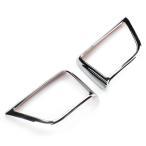 アルファード30/ヴェルファイア30系 ドアスピーカーリング 内装 トヨタ 内装 メッキパーツ ABSメッキ 3D立体