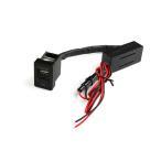 トヨタ車用 スイッチホール イオンUSBポート USB増設 ION 空気清浄 スマホ iPhone 充電 スイッチパネル TOKUTOYO(トクトヨ)