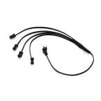 有機EL電源用 ワイヤー 4分岐ケーブル 40cm 12V TOKUTOYO(トクトヨ)
