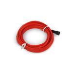 有機ELネオンワイヤー(フィン付き) カット可能 変形可能 高級感 イルミネーション 直径2.3mm 3M 赤 TOKUTOYO(トクトヨ)
