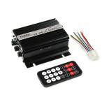 リモコン付き 2CH出力 オーディオ アンプ (USB/RCA/FM対応) 黒 TOKUTOYO(トクトヨ)(クーポン配布中)