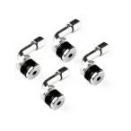 ホイール用 角度90° チューブレスバルブ エアバルブ 曲型/L型 耐熱コア使用 4個set TOKUTOYO(トクトヨ)