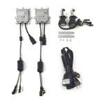 H4 Hi/Lo スライド 35W 8000K 12V仕様 HIDキット 2灯分 交換用バルブ ヘッドライト フォークランプ等に TOKUTOYO(トクトヨ)