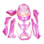 ショッピングホンダ ホンダ フォルツァMF08-Z/X 外装カウル 10点セット 薄ピンク色  TOKUTOYO(トクトヨ)(クーポン配布中)