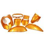 ホンダ リード50/100(AF48/JF06) 外装カウル9点Set 橙色オレンジ ホンダ LEAD50/110 外装セット