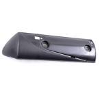 ホンダ リード110/EX 純正タイプ マフラーカバー/プロテクターA リードEX JF19 マフラー 黒