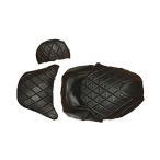 シートカバー 張替え用 黒 レザー調 グランド マジェスティ250 3点Set TOKUTOYO(トクトヨ)