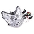 ヤマハ シグナスX(07-12) HID/白リング付きプロジェクター ヘッドライト