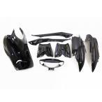 リモコンジョグJOG(SA16J)外装カウル 黒色メタリックブラック8点 外装セット ヤマハ