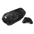 シートカバー 張替え用 黒 エナメル スカイウェイブ250 CJ44A/CJ45A/CJ46A2点セット TOKUTOYO(トクトヨ)(クーポン配布中)