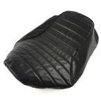 カワサキ(KAWASAKI)ZRX1100/1200R/S/DAEG シートカバー 張替え用 タックロール式黒レザー調シート表皮