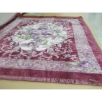 西川リビング アクリル 2枚合わせ毛布 ダブルサイズ 180×210cm