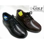 送料無料 AKIO GOLF アキオゴルフ 696 メンズ レザー カジュアルシューズ ビジネスシューズ ウォーキングシューズ