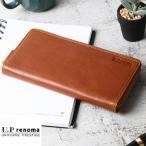 財布 メンズ ブランド 本革 レノマ ラウンドファスナー 長財布 小銭入れあり 革 皮 父の日 バースデー プレゼント カード入れ 61r652