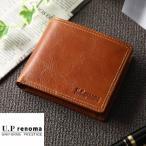 財布 メンズ ブランド 本革 レノマ renoma  小銭入れあり 二つ折り 革 皮 父の日 バースデー 誕生日 プレゼント カード入れ コインケース 61r653