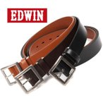 ベルト メンズ エドウィン EDWIN 本革 ブランド 大きいサイズ ベルト ロングサイズ  プレゼント 贈り物  ed0110938