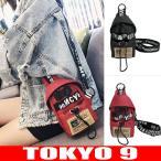 ボディバッグ バッグ レディース ショルダーバッグ ストリート系 HIPHOP おしゃれ ロゴ 新作 TOKYO9
