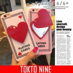(TOKYO9)新作 iPhone6ケース iPhone6plus ケース スマートフォンアイテム 簡単 スマホアクセサリー ハート ロゴ