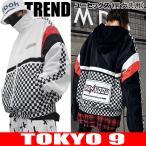 アウター メンズ ジャケット 長袖  ダンス 衣装 ストリート 卸 ビッグ 秋冬新作 ユニセックス HIPHOP ロゴ TOKYO9