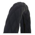 ヌバック調ハンドルカバー富士ブラック/黒糸LM-B