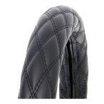 モコモコ-細巻きハンドルカバー富士 カーボンブラック【ML】