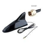 車載デジタルテレビチューナー用 シャークアンテナブラック SMA端子