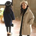 子供コートチェスターコート  女の子 アウター 韓国風  ロングダッフルコート おしゃれ ジャケット キッズ ファッション 冬服  ジュニア服