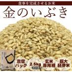 新米 30年産 金のいぶき 2.5kg 玄米 【10/23より発送開始】宮城 登米  特別栽培米 農薬・化学肥料不使用 食事を完成させるお米