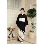 結婚式 黒留袖 レンタル Mサイズ SOMM045 郡鶴寿文 安い 親族 京都