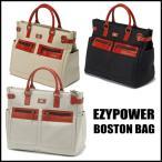 EZY POWER イージーパワー 帆布風ボストンバッグ「シューズケース袋付」トートバッグ風