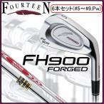 フォーティーン FH900 フォージド アイアン FOURTEEN FH-900 FORGED 6本セット(#5〜#9,P)