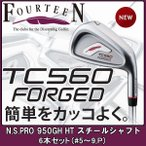 フォーティーン TC-560 FORGED アイアン  N.S.PRO 950GH HT