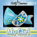 2013 タイトリスト スコッティ・キャメロン マイガール SCOTTY CAMERON My Girl 限定パター 712RF33C