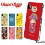 iPhone XS ケース ハード カバー ipxs ハードケース デザイン チュッパチャプス Chupa Chups
