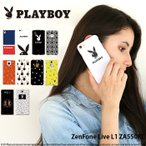 ZenFone Live L1 ZA550KL ケース スマホケース ゼンフォン 携帯ケース ハード カバー デザイン プレイボーイ playboy