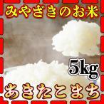 新米29年産九州宮崎県産あきたこまち5kg/白米/条件付き送料無料