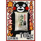 あすつく 一部地域 送料無料 精白米 30年産 九州 熊本県産 森のくまさん 10kg 5kg2個 くまモン 他の商品との同梱不可、単独発送