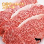 サーロインステーキ肉 200g×1枚 黒毛和牛肉使用 焼き方レシピ付 3枚以上 送料無料