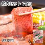 ショッピングお試しセット 【御歳暮 ギフト】焼肉セット 700g お試し 送料無料  焼き肉用 バーベキューセット カルビ ロース 豚バラ 鶏モモ使用