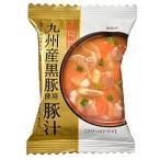 一杯の贅沢 九州産黒豚使用豚汁 / 1食(10.5g) TOMIZ(富澤商店) 和食材(加工食品・調味料) スープ・雑炊・茶漬け