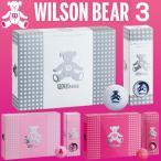 ウィルソン ベア スリー WILSON BEAR 3 ゴルフボール 1ダース「レディース」