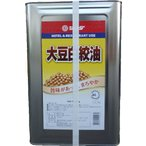 JFDA 大豆白絞油 16.5kg 一斗缶 送料無料