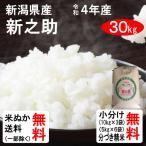 米 30kg 送料無料 新潟県 新之助 1等玄米 クーポンで500円引き!