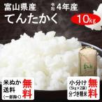 令和2年産 富山県産 てんたかく 1等玄米  10kg 送料無料 クーポンで100円引き!