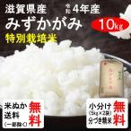 (クーポンご利用で100円引き!)平成28年産 滋賀県産 特別栽培米みずかがみ(1等玄米) 10kg 送料無料