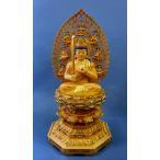 木彫仏像 虚空蔵菩薩6寸総高60cm桧木彩色切金  受注生産