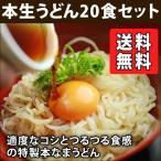 特製本生ざるうどん 20食(※麺つゆは付きません) 送料無料 業務用